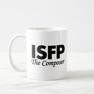 Caneca De Café Tipo de personalidade ISFP   o compositor