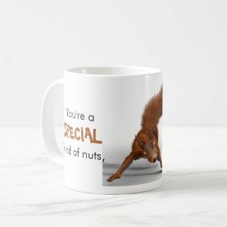 Caneca De Café Tipo especial da foto engraçada do esquilo