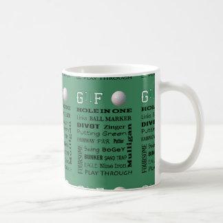 Caneca De Café Tipografia do GOLFE