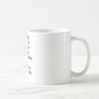 Caneca De Café TO BEE OR NOT TO BEE? That is the question