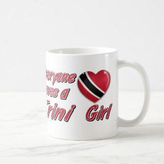 Caneca De Café Todos ama uma menina de Trini
