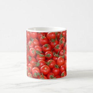 Caneca De Café Tomates vermelhos da videira