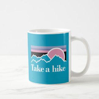 Caneca De Café Tome uma caminhada