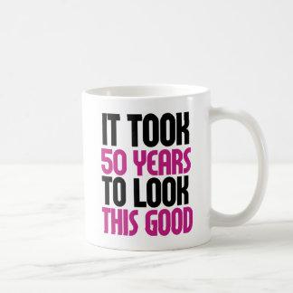 Caneca De Café Tomou 50 anos para olhar este bom
