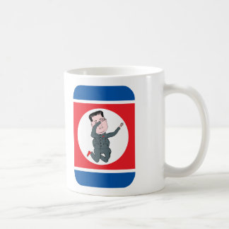 Caneca De Café Toque ligeiro do Un de Kim Jong da Coreia do Norte