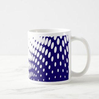 Caneca De Café Torção azul