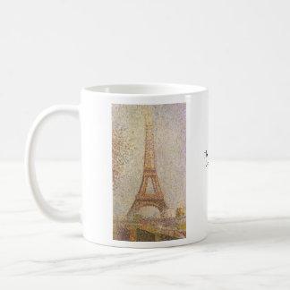 Caneca De Café Torre Eiffel