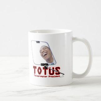 Caneca De Café TOTUS - Obama - presidente do Teleprompter