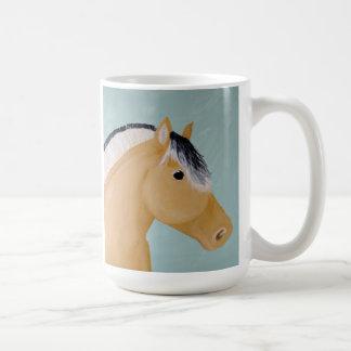 Caneca De Café Trabalhos de arte noruegueses do cavalo do fiorde