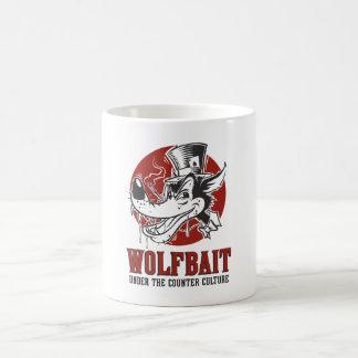 Caneca De Café Trabalhos de arte Rockabilly/Psychobilly Wolfbait
