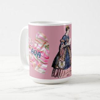 Caneca De Café Traja o dia dos namorados personalizado ~ de AVA~