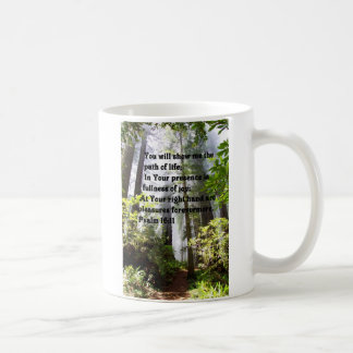 Caneca De Café Trajeto do salmo da vida