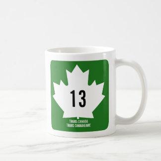 Caneca De Café Transporte-Canadá