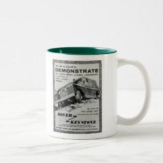 Caneca de café trapezóide do anúncio de Rover