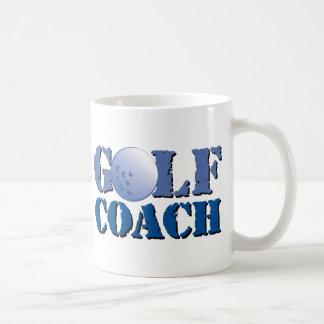 Caneca De Café Treinador do golfe