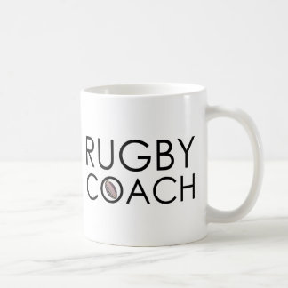 Caneca De Café Treinador do rugby