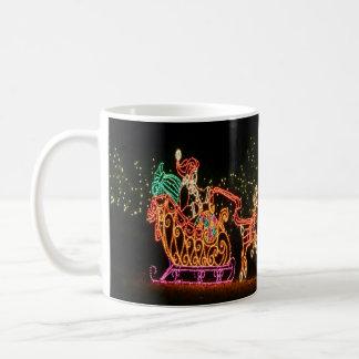 Caneca De Café Trenó 2016 do papai noel do Natal
