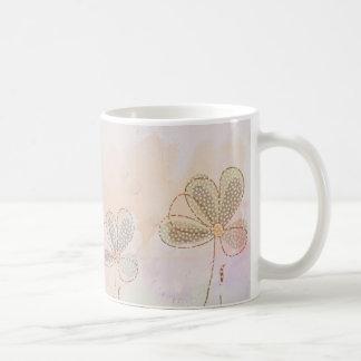 Caneca De Café Três bonitas flores