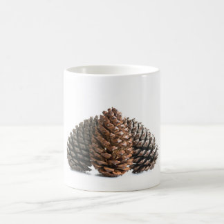 Caneca De Café Três pinecones