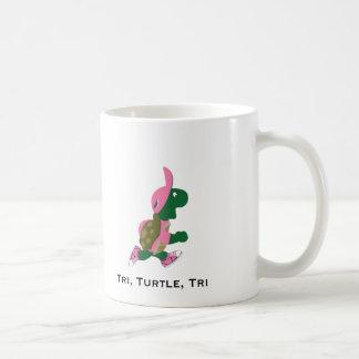 Caneca De Café Tri, tartaruga, tri