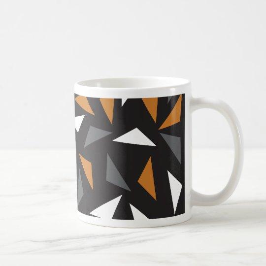 Caneca De Café Triângulos animados