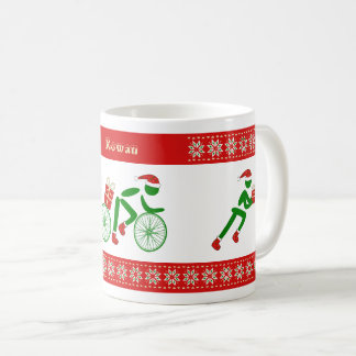 Custom name christmas triathletes