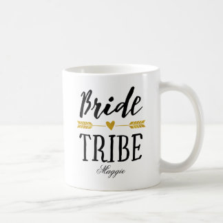 Caneca De Café Tribo Personalized-3 da noiva
