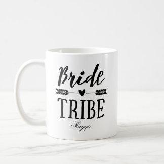 Caneca De Café Tribo Personalized-4 da noiva