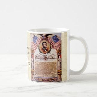 Caneca De Café Tributo da proclamação de The Emancipation a