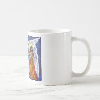 Caneca De Café Trio Drinkware da música do anjo