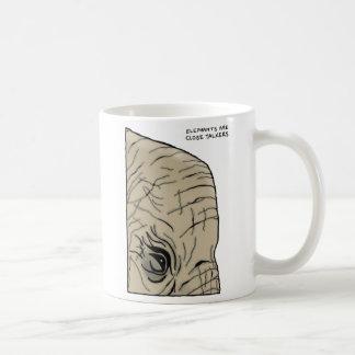 Caneca De Café trivialidade do elefante