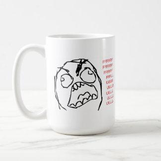Caneca De Café Troll da raiva