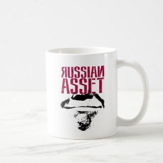Caneca De Café Trunfo do traidor: Como um recurso do russo;
