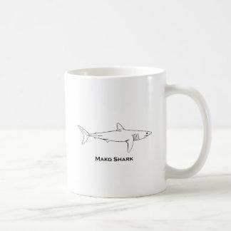 Caneca De Café Tubarão de Mako