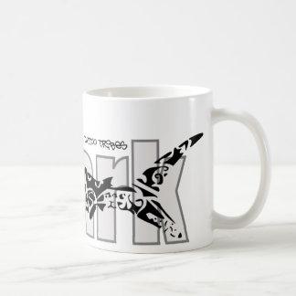 Caneca De Café Tubarão tribal