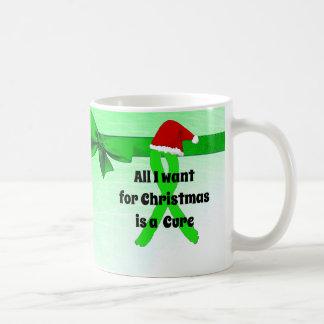 Caneca De Café Tudo que eu quero para Chirstmas é um copo de Lyme