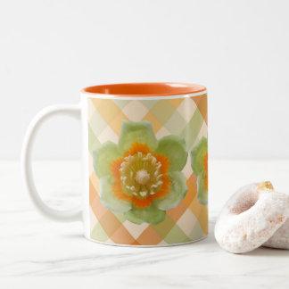 Caneca de café - tulipa do álamo de tulipa em
