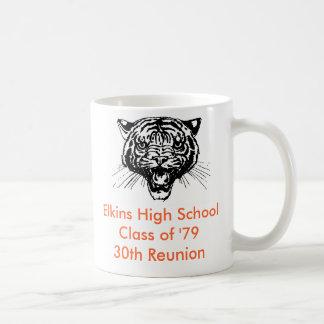 Caneca De Café Turma da escola secundária de Elkins 'da 30a