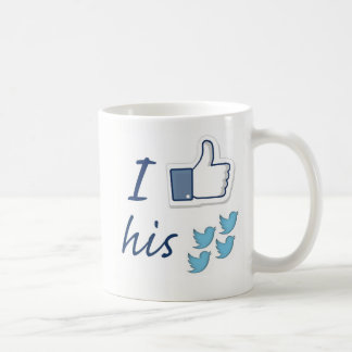 CANECA DE CAFÉ TWEETS DO TRUNFO