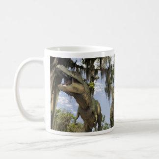 Caneca De Café Tyrannosaurs da caça