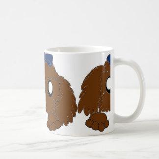 Caneca De Café tzu de shih que espreita o fígado