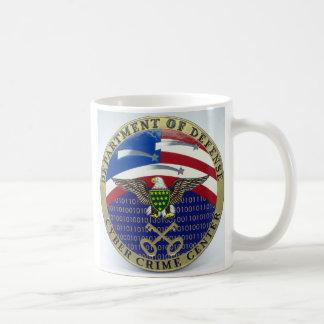 Caneca De Café U.S. Departamento da DEFESA - centro do crime do