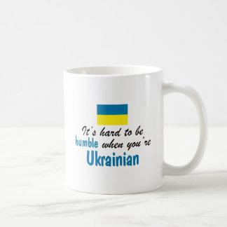 Caneca De Café Ucraniano humilde