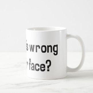 Caneca De Café Ugh! Que é errado com sua cara?