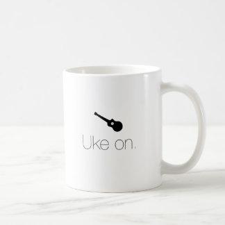 Caneca De Café Uke sobre