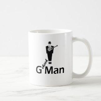 Caneca De Café Ukulele do homem de G