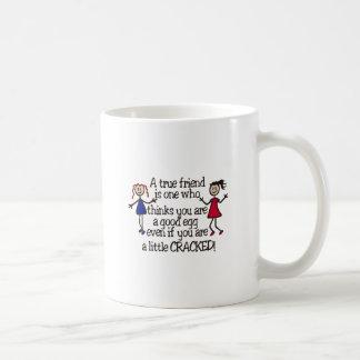 Caneca De Café Um amigo verdadeiro
