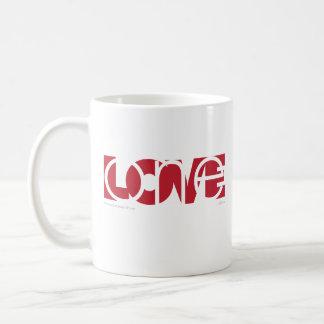 Caneca De Café Um amor (vermelho)