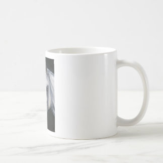 Caneca De Café Um cavalo branco
