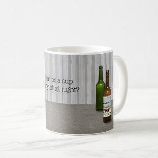 Caneca De Café Um copo pode guardarar a cerveja demasiado